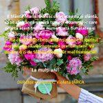 Felicitare Sf. Maria director economic Violeta Iarca