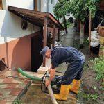 """După ploaia din weekend, Câmpulungul, a devenit  o mică """"Veneția"""""""